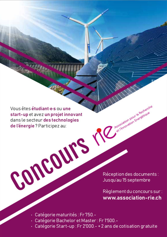 rie concours 2019